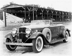 1932 Lincoln Model KB Pace car for the Indianapolis 500, driven by Edsel Ford. Visit http://holmestuttlelincoln.net/