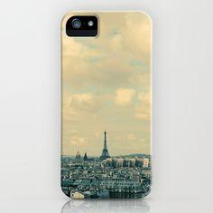 Paris In Blue iPhone Case by Alicia Bock - $35.00