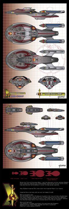 Star Trek: Imperial One by stourangeau on deviantART