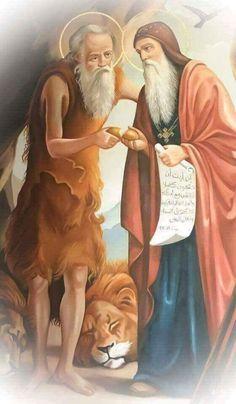 أنبا أنطونيوس و أنبا بولا