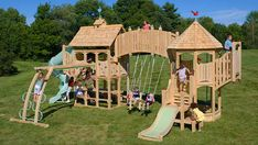 Most breathtaking Outdoor Playset For Kids – Serendipity Series from CedarWorks - Homedesignxtreme.com