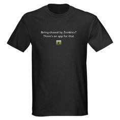 Zombies shirt/app