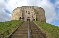 Clifford's Tower in York, England