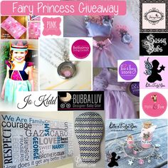 Enter to win: Fairy Princess Giveaway - PINK Design Room | http://www.dango.co.nz/s.php?u=eiSULDHB2672