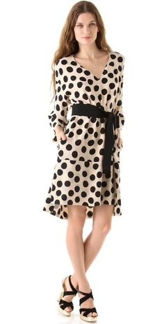 Sonia Rykiel Polka Dot Dress - $1295 -- I can make something almost like this for $40.