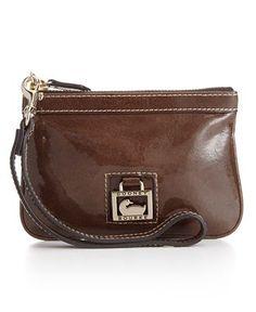 Dooney & Bourke Handbag, Patent Leather Medium Wristlet