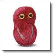 Giant Microbes Flesh Eating (Streptococcus pyogenes) Plush Toy