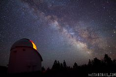Oregon Observatory - Bend, OR It was very cool to see the sky in all of the big telescopes. The skies look amazing!