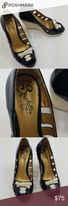 63c903445d Seychelles wedge size 7 Excellent condition Anthropologie Shoes Wedges