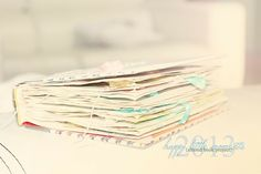 {happy little moments} 2013 altered book project - Two Peas in a Bucket