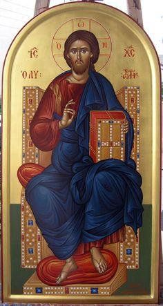 Christ Pantocrator, Roman Church, Orthodox Christianity, Orthodox Icons, Jesus Christ, Catholic, Lord, Symbols, Cyprus