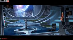 Some more of Matt Rhodes concept art for Mass Effect 3. He does some pretty amazing work.