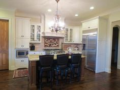 Great new kitchen from Calvery's Booneville Cabinet Company - visit the Kitchen & Bath Channel for more!