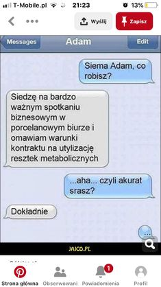 Funny Sms, Funny Text Messages, Wtf Funny, Funny Cute, Funny Texts, Polish Memes, Meme Template, Life Humor, Wedding Humor