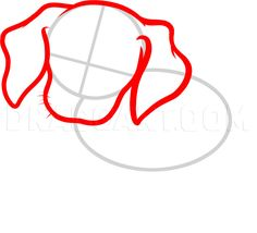 How To Draw A Beagle Puppy, Beagle Puppy, Step by Step, Drawing Guide, by Dawn | dragoart.com Puppy Drawing, Handmade Dog Collars, Online Drawing, Beagle Puppy, Christmas Colors, At Least, Pumpkin, Puppies, Drawings