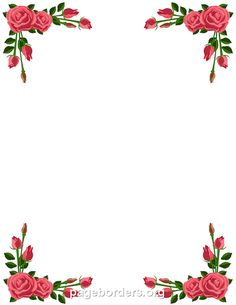 Pin By Muse Printables On Page Borders And Border Clip Art Floral