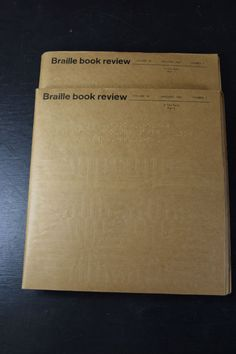 1967 Braille Book Review January Volume 36 Number 1 Part One and Two Clovernook