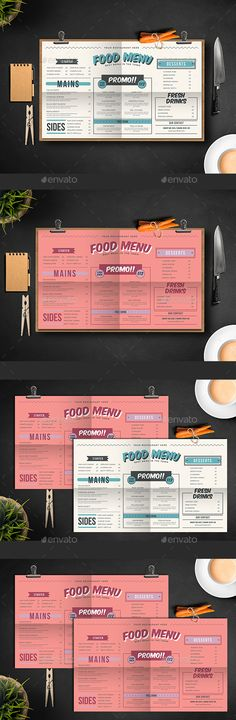 Fresh Food Menu