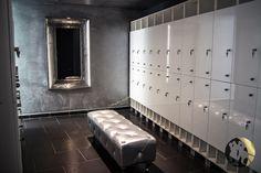 Changing room & lockers / Vestuario y taquillas