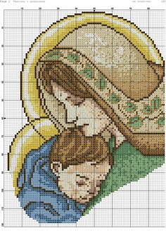 Cross Stitch Fairy, Counted Cross Stitch Patterns, Cross Stitch Embroidery, Blackwork Patterns, Knitting Patterns, Handmade Envelopes, Religious Cross, Christmas Cross, Flower Crafts