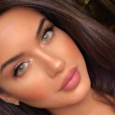 Beauty Make-up, Natural Beauty Tips, Natural Makeup Looks, Beauty Hacks, Simple Makeup Looks, Beauty Ideas, Beauty Skin, Natural Glow Makeup, Natural Looks