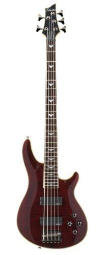 Schecter Omen Extreme-5 Bass Guitar (Black Cherry): http://www.amazon.com/Schecter-Extreme-5-Guitar-Black-Cherry/dp/B001RIZ2OI/?tag=nutrisupplblo-20