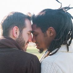 Love is LOVE! Acceptance is growing daily, push on: Photo Lgbt Couples, Cute Gay Couples, Baby Avengers, Interracial Couples, Beautiful Love, Beautiful Things, Man Photo, Man In Love, Decir No