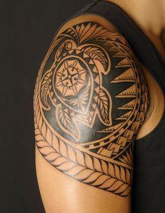 Tattoos, Polynesian Tattoos Half Sleeve: Polynesian Tattoo