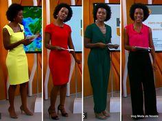 moda do programa Hora 1, looks da Maria Julia Coutinho de 9 a 12 de dezembro