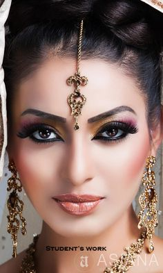 makeup lips – Hair and beauty tips, tricks and tutorials Indian Bridal Makeup, Asian Bridal, Beautiful Eyes, Pretty Eyes, Bollywood Makeup, Arabian Makeup, Beautiful Indian Brides, Wedding Girl, Beauty Full Girl