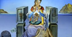 Salvador Dali The Madonna of Porte Lligat, 1948 | Dali | Pinterest | Madonna, Dali and Salvador Dali