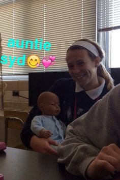 baby in Honors A&P class