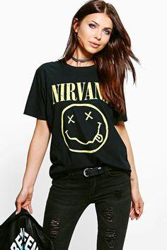 68c4e6c475d Katie Nirvana Licence Print Band T-Shirt
