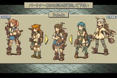 Kantai Collection with Final Fantasy Tactics