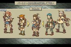 Kantai Collection with Final Fantasy Tactics