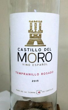 Castillo del Moro Tempranillo    Rosado Rosé wine Spain 12% alcohol $10 crisp Rosé with strawberry, tangerine, raspberry and cranberry flavors. Good 87pts.