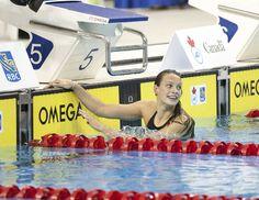Penny Oleksiak Breaks Own Junior World Record In Women's 50 Fly Swimming News, Keep Swimming, Olympic Sports, Rio 2016, Summer Olympics, World Records, Swimmers, Big Star, Superstar