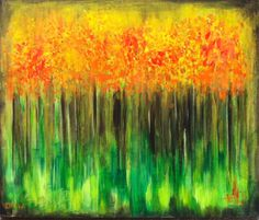 ARTFINDER: Autumn Ablaze by Drew Noel Trombley - Fall, my favorite time of year! Full of rich and vibrant colors scattered all around us. The smell of cinnamon sugar donuts and hot apple cider in the air ma...
