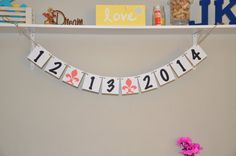 Save the Date Fleur de lis  Black and Coral by JKreations2013, $14.50