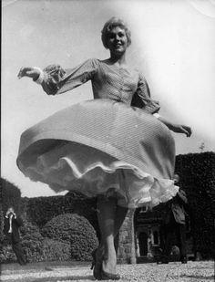 Kim Novak at the 1956 Cannes Film Festival