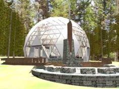 Geodesic home - YouTube