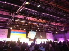 @wilddueck on stage. #rp13