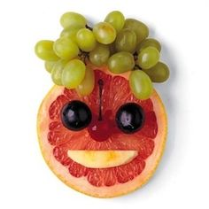 It's OK to play with your food! @GeoPalz recommends presenting #healthy food in a different way to help your #kids eat their fruits and veggies!