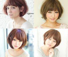 mori girl short hair styles