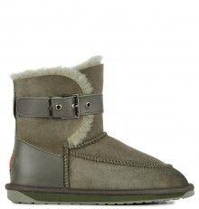 Emu khaki válenky Trundle Khaki Emu, Bearpaw Boots, Biker, Australia, Shoes, Fashion, Moda, Zapatos, Shoes Outlet