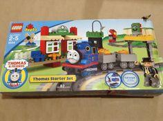 Lego Duplo 5544 Thomas & Friends Train Starter Set with Box Missing 6 Pieces #LEGO