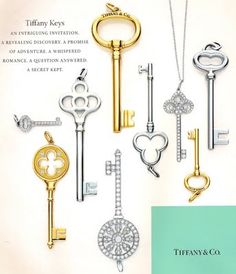 Labrujuladeh Keys Tiffany Keys Floral