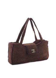 a577228a9c31 Chanel Suede   Shearling Handbag. Treasures of NYC