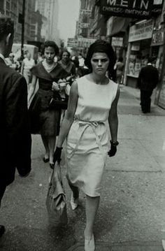 Garry Winogrand - from the series 'Women are Beautiful' (1966)