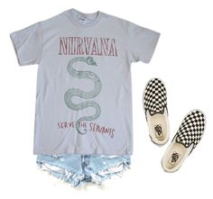 """Summer"" by aliennbby on Polyvore featuring Vans"